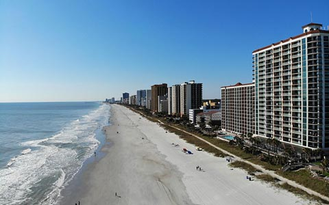 Myrtle Beach high rise buildings